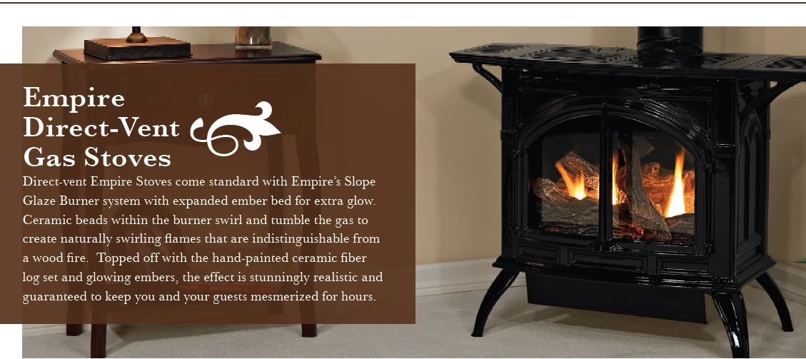 Empire Cast Iron Stove